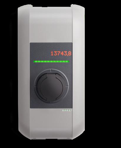KEBA Wallbox KeContact P30 c-series mit RFID und geeichtem Zähler (MID)